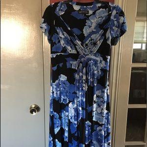 Beautiful blues floral dress